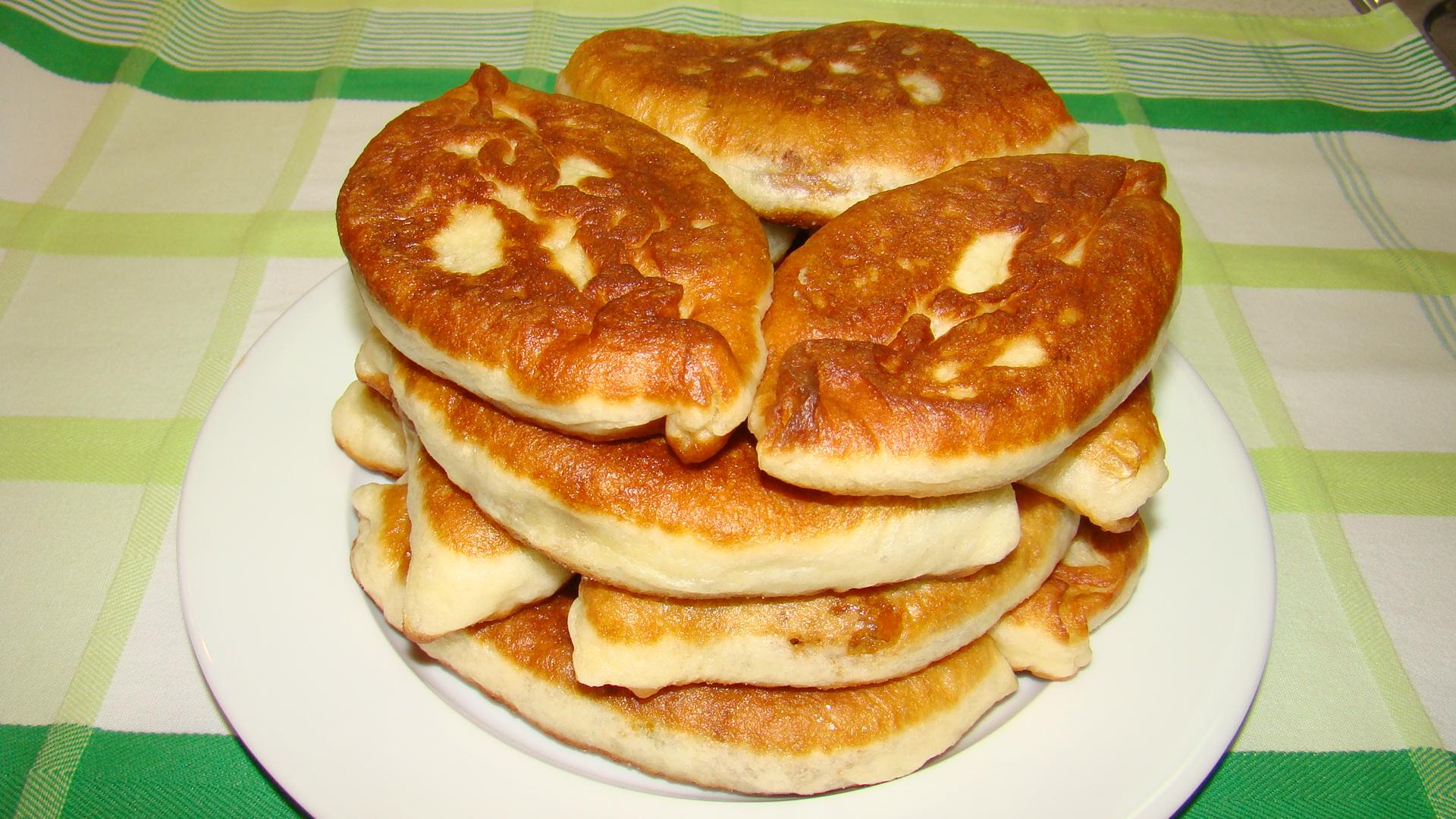 Рецепт жареных пирожков