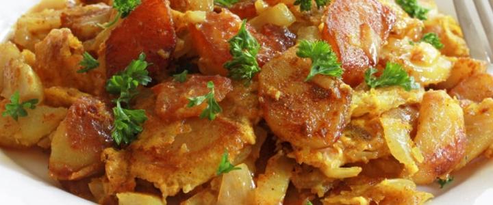 Жареная картошка по-холостяцки
