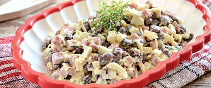 зимний салат без огурцов