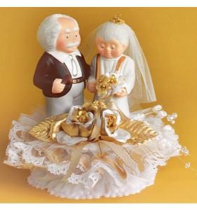 Что дарить золотая свадьба
